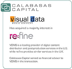 Buy-side M&A Advisory for Visual Data Media Services